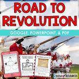 Revolutionary War Causes Unit- Road to American Revolution