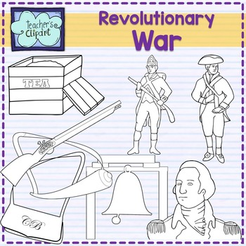 Revolutionary War Clipart {Social Studies clip art}