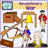 Revolutionary War Clipart {Social Studies} American Revolution