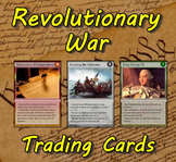 Revolutionary War Trading Cards