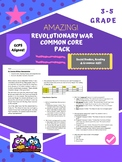 Revolutionary War Common Core Reading Packet