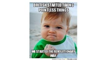 "Revolutionary War ""Create a Meme"""