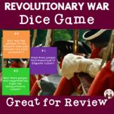 Revolutionary War Dice Game Activities