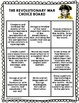 Revolutionary War Differentiated Choice Board - Set of 2