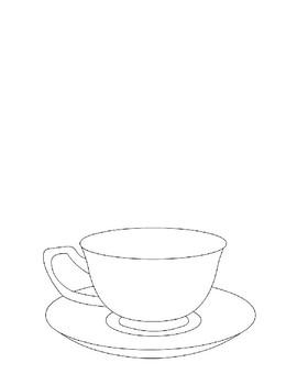 Revolutionary War: Edenton Tea Party  Questions and FUN Teacup Art Activity
