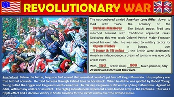 Revolutionary War: Engaging Power Point