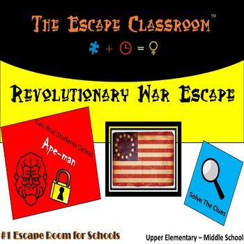 Revolutionary War Escape Room   The Escape  Classroom