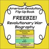 Revolutionary War Flip-Up Book FREEBIE: Biography
