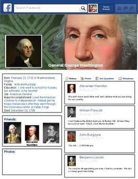 Revolutionary War Generals Facebook