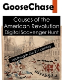 Revolutionary War GooseChase - Causes of the American Revolution Scavenger Hunt