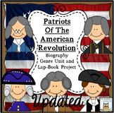 Revolutionary War QR Codes Lap Book