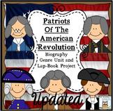Lap Book: Revolutionary War | QR Codes Project Multisensor