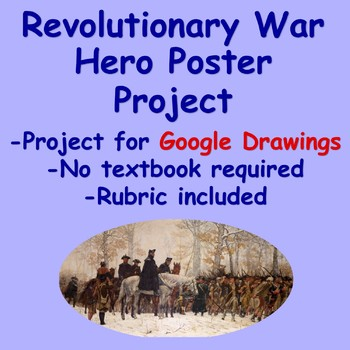 Revolutionary War Heroes Poster Project