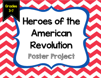 Revolutionary War Heroes Project {No Prep}