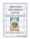 Revolutionary War Interactive Notebook