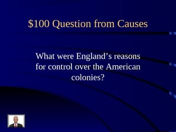 Revolutionary War Jeopardy