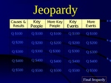 Revolutionary War Jeopardy