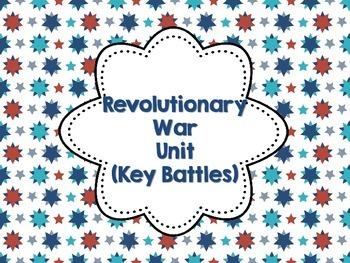 Revolutionary War Key Battles