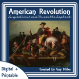 American Revolution Digital Unit | Revolutionary War Printable Distance Learning
