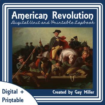 American Revolution Digital Unit | Revolutionary War Printable Distance Learning