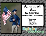 Revolutionary War Leaders Find the Evidence Biographies