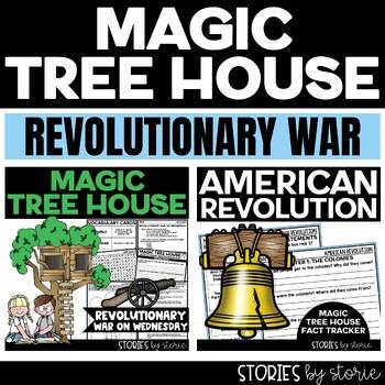 Revolutionary War Magic Tree House Bundle