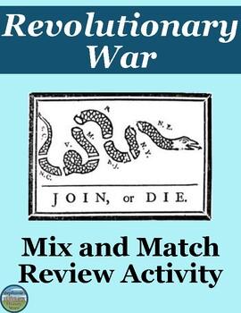 Revolutionary War Mix and Match Review