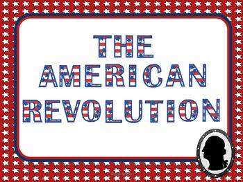 Revolutionary War Pack