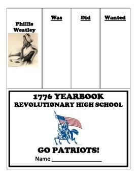 Revolutionary War Patriot Yearbook