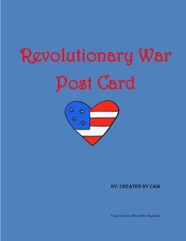 Revolutionary War Postcard