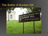 Revolutionary War PowerPoint Series-Battle of Bunker Hill