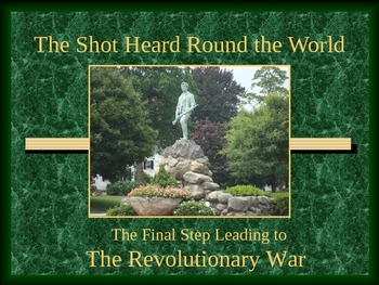 Paul Revere, Lexington, Concord-Revolutionary War Series