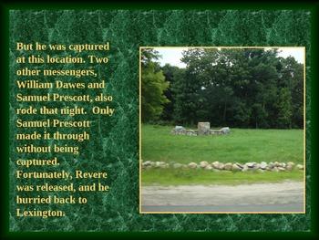 Revolutionary War PowerPoint Series-Revere, Lexington, Concord