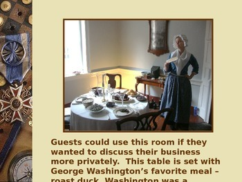 Revolutionary War PowerPt Series-Gadsby's Tavern Founding Fathers Meeting Place