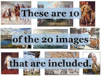 Revolutionary War Primary Source Image Activity