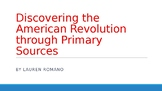 Revolutionary War Primary Source Packet PowerPoint- FREEBIE!