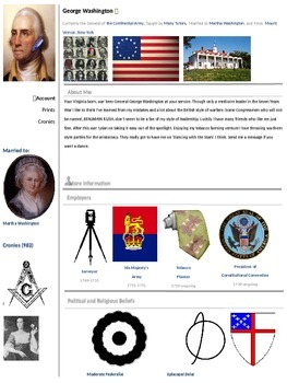 Revolutionary War Profiles
