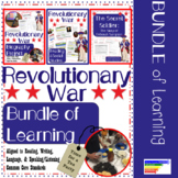 Revolutionary War Project, Informational Text, Book Study + more