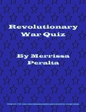 Revolutionary War Quiz