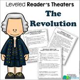 Revolutionary War Reader's Theater {Leveled Parts}