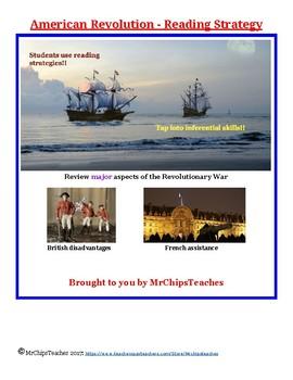 Revolutionary War - Reading Strategies