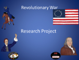 Revolutionary War Research Project