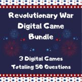 Revolutionary War Review: 3 Games!