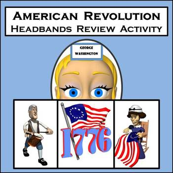 Revolutionary War Review Game - Based on HEADBANDS Game -