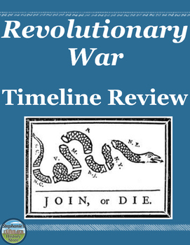Revolutionary War Timeline Review