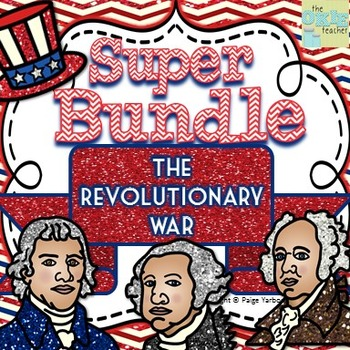 Revolutionary War SUPER BUNDLE