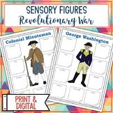 Revolutionary War Sensory Figure Body Biographies