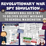 America Revolution Revolutionary War Spy Simulation