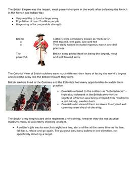 Revolutionary War Stations