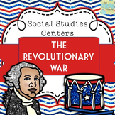 Revolutionary War Super Social Studies Centers Bundle